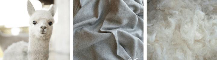 Baby Alpaca Volnena odeja