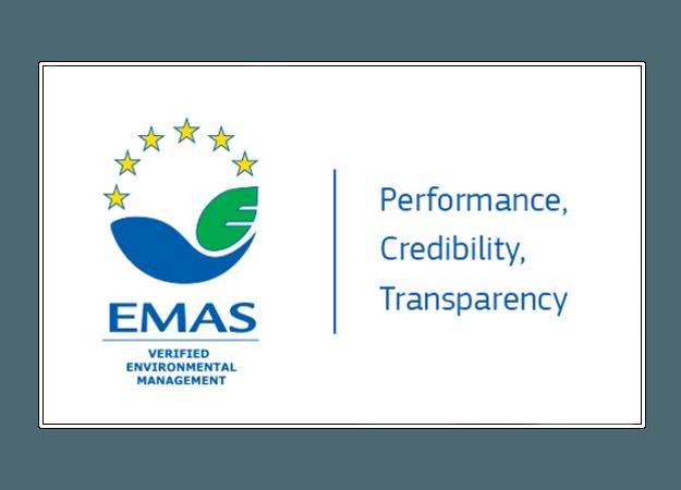 EMAS Certifikat