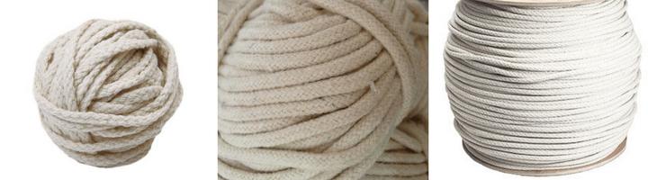 Bombažna pletena vrv