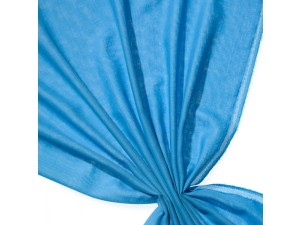 Volneno Blago, Etamin tkanina - NEBESNO MODRA - 115 g/m2, širina 148 cm