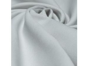 BIO Bombažni rebrast jersey, obojestranski, blago, SVETLO SIVA, 240 g/m2, širina 145 cm