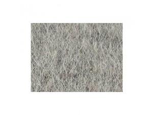 Volneni filc, blago, meliran, SVETLO SIVA - 3 mm, širina 200 cm