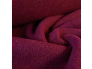 Mehak Merino Bombažni flis, debelejši, meliran, blago, VIJOLIČNA, 420g/m2, širina 130 cm