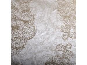 Žakard Svileno blago, debelejša svila, tussah - NATUR - (širina 280 cm)