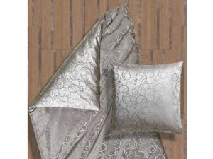 AMADEUS GRIGIO Svilena jogi rjuha - Žakard lažja svila