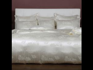 ANGELO BIANCO Svilena posteljnina - Žakard debelejša svila