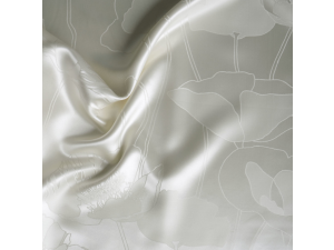 ANGELO BIANCO Svilena ravna rjuha - Žakard debelejša svila