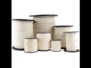 Bombažna pletena vrvica - Ø 1 mm / Kolut 500 m