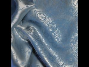 DOLCE TOURAIZE Svilena ravna rjuha - Žakard težka svila / 31 momme (mm)