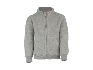 EKO Merino Flis Otroška jakna /c superwarm - SIVA - vel. 129 do 152