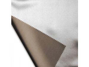 Svilena ravna rjuha, debelejša svila - RJAVA - sijaj/mat