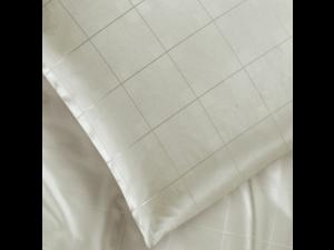 KENT NATURALE Svilena ravna rjuha - Žakard lahka svila / 19 momme (mm)
