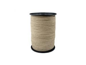 Konopljina pletena vrvica - Ø 1 mm / Kolut 500 m