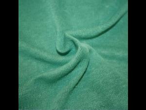 Konopljino Blago - Jersey - SMARAGDNO ZELENA - 330g/m2 & širina 104 cm