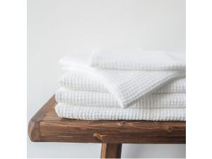 Lanena brisača - BELA Wafelpique