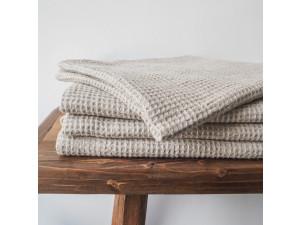 Lanena brisača - NATUR Wafelpique