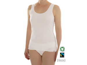 EKO Bombažna Ženska majica /a basic - KREM