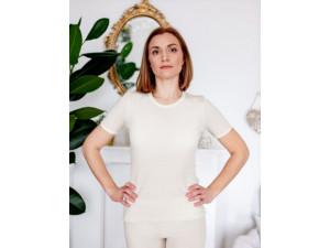 EKO Merino Ženska majica /b original - NATUR