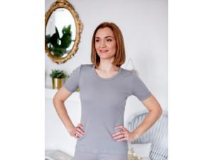 EKO Merino Ženska majica /b original - SIVA