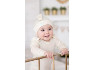 EKO Merino Svilene Otroški body /c essential - NATUR - vel. 56 do 104