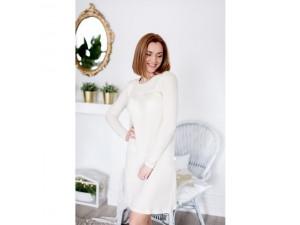 EKO Merino Svileni Ženska spalna srajca /c essential - NATUR