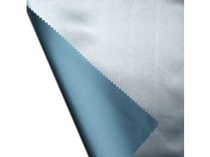 Svilena jogi rjuha, debelejša svila - MODRA - sijaj/mat