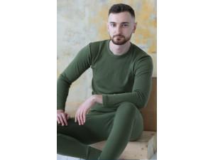 EKO Merino Moška majica /c original - ZELENA