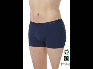 EKO Bombažne Moške Boxer spodnje hlače /elegant - MODRA