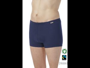 EKO Bombažne Moške Boxer spodnje hlače /basic - MARINE