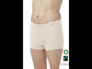 EKO Bombažne Moške Boxer spodnje hlače /basic - NATURAL