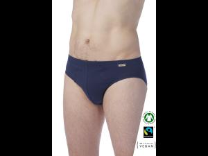 EKO Bombažne Moške Slip spodnje hlače /basic - MARINE