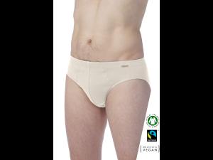 EKO Bombažne Moške Slip spodnje hlače /basic - NATURAL
