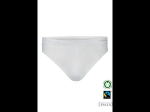 EKO Bombažne Moške Slip spodnje hlače /bodyfit - BELA
