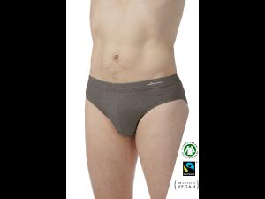 EKO Bombažne Moške Slip spodnje hlače /bodyfit - SIVA