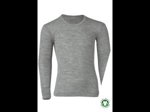 EKO Merino Svilena Otroška majica /c essential - SIVA - vel. 92 do 176
