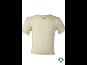 EKO Merino Svilena Otroška majica /b essential - NATUR - vel. 62/68 do 98/104
