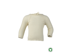 EKO Merino Svilena Otroška majica /c essential - NATUR - vel. 50/56 do 62/68