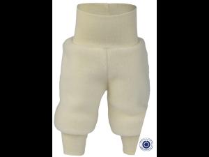 EKO Merino Flis Otroške hlače /superwarm - NATUR - vel. 50/56 do 62/68