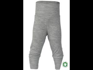 EKO Merino Svilene Otroške hlače /c essential - SIVA - vel. 50/56 do 86/92