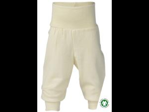 EKO Merino Svilene Otroške hlače /essential - NATUR - vel. 50/56 do 86/92