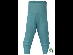 EKO Merino Svilene Otroške hlače /essential - TURKIZNA - vel. 50/56 do 86/92