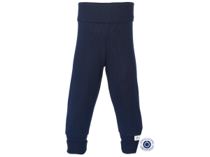 EKO Bombažne Otroške hlače /pure - MODRA - vel. 50/56 do 86/92