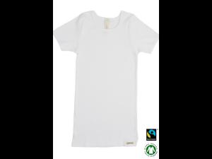EKO Bombažna Otroška majica /b basic - BELA - 104 do 164
