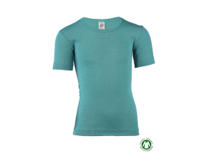 EKO Merino Svilena Otroška majica /b essential - MODRA - vel. 92 do 176