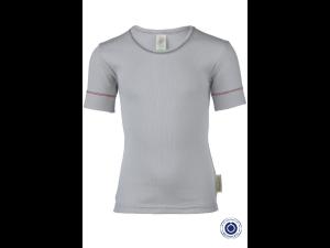 EKO Bombažna Otroška majica /b pure - SIVA - vel. 92 do 152