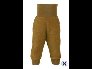 EKO Merino Flis Otroške hlače /superwarm - RUMENA - vel. 50/56 do 86/92