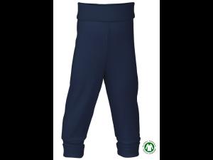 EKO Merino Svilene Otroške hlače /essential - MODRA - vel. 50/56 do 86/92
