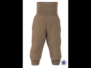 EKO Merino Flis Otroške hlače /superwarm - SVETLO RJAVA - vel. 50/56 do 86/92