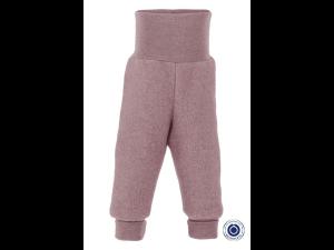 EKO Merino Flis Otroške hlače /superwarm - ROZA - vel. 50/56 do 86/92