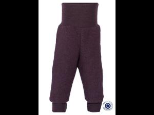 EKO Merino Flis Otroške hlače /superwarm - LILA - vel. 50/56 do 86/92